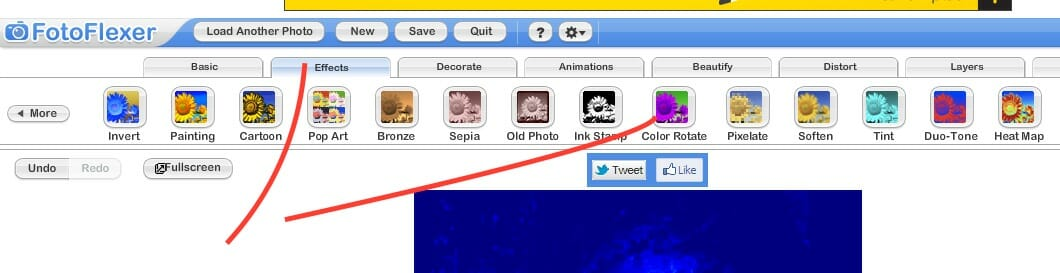After Applying Heat map, go to COLOR ROTATE, click APPLY as well, then SAVE you are DONE!