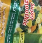 kale mango pineapple spinach flaxseeds frozen for a smoothie